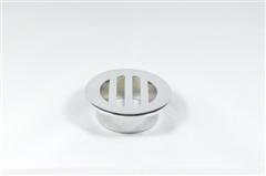 63981 50mm FL. GRATE ROUND TO PVC C/P