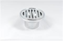 63991 80mm X 50mm FL.GRATE ROUND TO PVC C/P